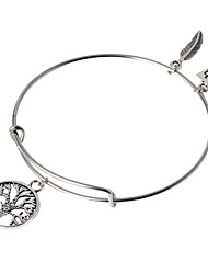 HUALUO®European and American retro steel ring bracelet pendant wild tree of life bracelet Ms. bracelet