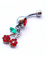 Body Jewelry/Navel Rings/Belly Piercing Crystal Others Unique Design Fashion White 1pc
