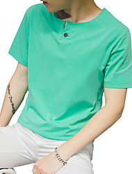 The 2016 Summer Youth T-Shirt short sleeve T-shirt Japanese Half Sleeve Shirt Mens dress tide