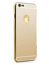 зеркало алюминиевый корпус для iphone 6с 6 плюс
