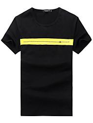 The 2016 Summer men's t-shirt t-shirt short sleeve T-shirt slim Korean youth fashion