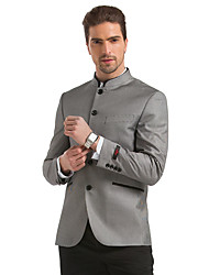 Seven Brand® Men's Stand Long Sleeve Blazers & Suits Gray-902C110300
