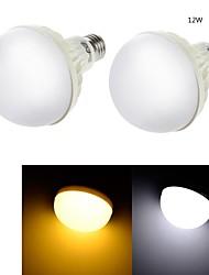 12W E26/E27 Ampoules Globe LED C35 18 SMD 5630 850 lm Blanc Chaud / Blanc Froid Décorative AC 100-240 V 2 pièces