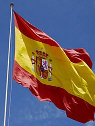 1PC Spain Flag 3 X 5 Ft Espana Flag. Spanish Flag 90 X 150 Cm Spain Banner