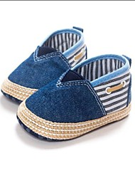 Baby Shoes Dress / Casual PU Flats Blue