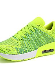 Scarpe Donna-Sneakers alla moda-Tempo libero / Casual / Sportivo-Punta arrotondata / Chiusa-Piatto-Tessuto-Blu / Verde / Rosa / Arancione