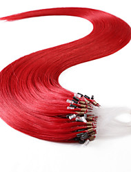 neitsi® 20inch anillo 50s / lot 50g micro bucles de extensiones de cabello humano anillos cabello humano