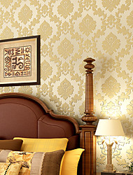 Contemporary Wallpaper Art Deco 3D Fashion Flower Wallpaper Wall Covering Non-woven Fabric Wall Art