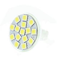 7W GU4(MR11) Lâmpadas de Foco de LED MR11 15 SMD 5060 550-650 lm Branco Quente / Branco Frio / Branco Natural Regulável / DecorativaDC 12