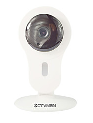 CTVMAN Mini Home Wifi IP Camera 720P HD Wireless Smart Plug & Play P2P Onvif Surveillance CCTV Cam