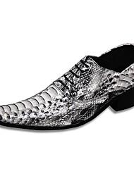 Sapatos Masculinos Oxfords Colorido Couro Casamento / Festas & Noite