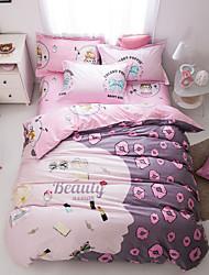 Lips print duvet cover Sets 100% Cotton Bedding Set Queen/Double/Full Size