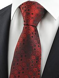 Krawatte(Rot,Polyester)Punkte