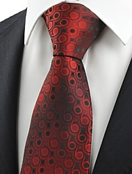 Gravata(Vermelho,Poliéster)Poás