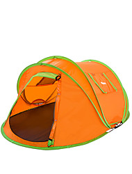 Makino 2 persons Tent Double Automatic Tent One Room Camping Tent 2000-3000 mm Fiberglass Nylon PolyesterWaterproof Breathability