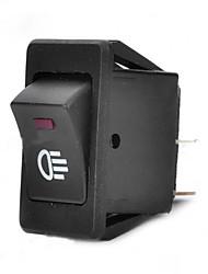 voiture interrupteur jtron / brouillard interrupteur vert / rouge - noir (30a / 12v)