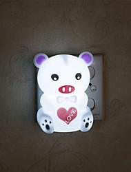 porco branco quente criativo relativa ao bebê de sono leve noite