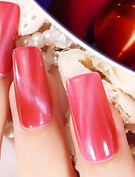 Ekbas Cat Eye Red Matte Nail Glue 16ML Nail Polish