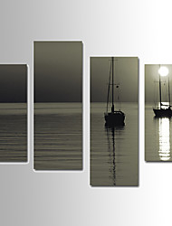 Landscape Canvas Print Four Panels ,Any Shape(No Frame)