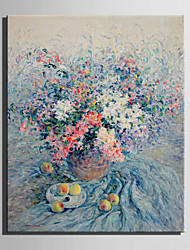 Mini Size E-HOME Oil painting Modern Flowers And Fruits On The Table Pure Hand Draw Frameless Decorative Painting
