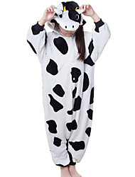nuevos niños de franela cosplay® vaca Kigurumi pijama (sin zapatos)