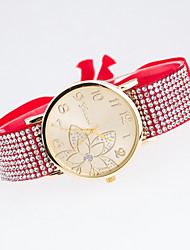 Women's New Trend European Style Fashion Rhinestone Geneva Flower Bracelet Watch