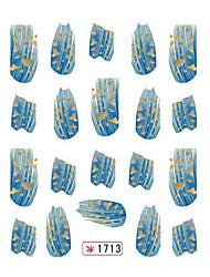 прекрасный лак для ногтей переноса воды ювелирных ногтей