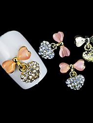 lovely opala mentais arco liga unhas jóias (5pcs)