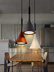 Art Creative Bar Pendant Lamp American Retro and Light Colored Corridor Decor Lamps