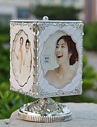 1PC Music Box Frames Children's Swing Sets Wedding Photo Frame Combination Put Rotating Sound Studio