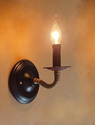 LED Chandeliers muraux,Rustique/Campagnard E12/E14 Métal