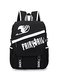 Bolsa Inspirado por Fairy Tail Lucy Heartfilia Anime Acessórios de Cosplay Bolsa / mochila Preto Tela Masculino / Feminino