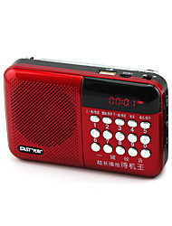 Multifunction N-518 Digital Song Card Small Stereo Radio Portable Player