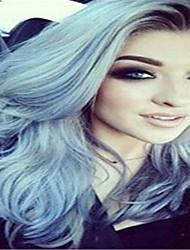 3pcs / lot ombre 1b / gris de dos tonos brasileño virginal extensiones de cabello de color humanos onda del cuerpo de tejer
