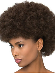 Dark Brown Colour African Afro Wigs for Black Men Or Women