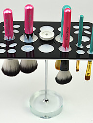 Crystal Dry Brush Holder