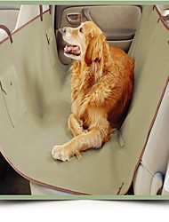 Hot Sale Waterproof Car Seat Cover for Pets, Dog Seat Cover Beige Color Supply Double Layer