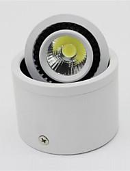 7W 700LM поверхностного монтажа привели потолочные светильники початка светильник светодиодный трек AC85-265V