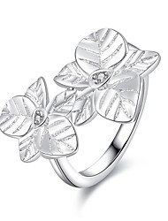 Statement Rings Silver Plated Fashion Silver Jewelry Party 1pc
