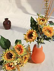 tournesols de soie fleurs artificielles 1pc / set