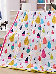Одеяло,Разноцветный 100% синтетическое микроволокно