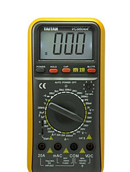 vc9804a Taitan + amarelo para multímetros digitais professinal