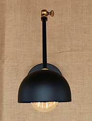 Industrial-Style Antique Retro Double Long-Arm Wall Sconce