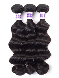 "4Pcs/lot  Rosa Hair Products 10-28"" Peruvian Loose Wave 7A Unprocessed Human Hair Weave Bundles"