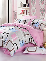 Shuian® Comforter Winter Quilt Keep Warm Thickening  Quilts with Printing Lattice Pattern
