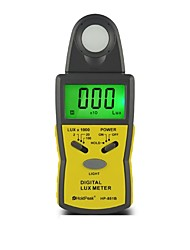 100kLux Digital Handheld  Light Intensity Meter Lux Meter HoldPeak HP-881B