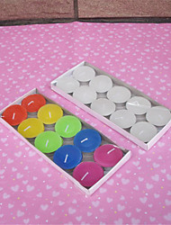 10pcs/Set Creative Wedding Daily Romantic Marriage Proposal Advertising Birthday Smoke Free Craft  Wax Random Color