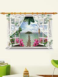 Botánico / Caricatura / Romance / De moda / Florales / Día Festivo / Paisaje / Formas / Transporte / 3D / Fantasía Pegatinas de pared