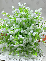 High Quality 7 Forks Baby Breath  Artificial Flower  (White)