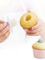 Kitchen Cupcake Corer Plunger Cutter Cake Pastry Decorating Divider Mold Kitchen Baking Tools